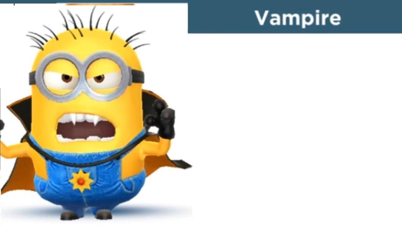 Despicable Me: Minion Rush - Vampire Costume [Halloween] - YouTube
