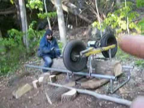 Homemade saw mill for $200 - Solar Burrito