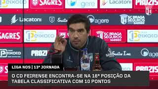 """Abel: «Para melhorar? Temos de contratar o Guardiola, Sterling, Messi e Ronaldo…"""""""