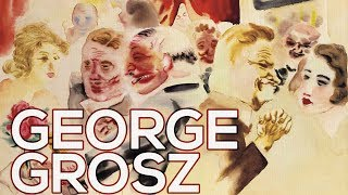 George Grosz: A collection of 94 works (HD)