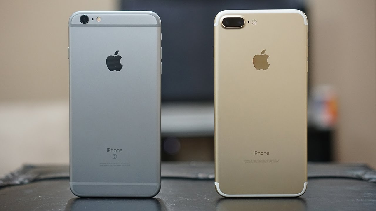 iPhone 7 Plus vs iPhone 6s Plus: One is similar, One is ...