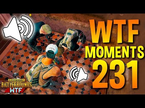 FUNNY FAIL VOICE CHAT! PUBG WTF Moments Highlights Ep 231 (playerunknown's battlegrounds Plays)