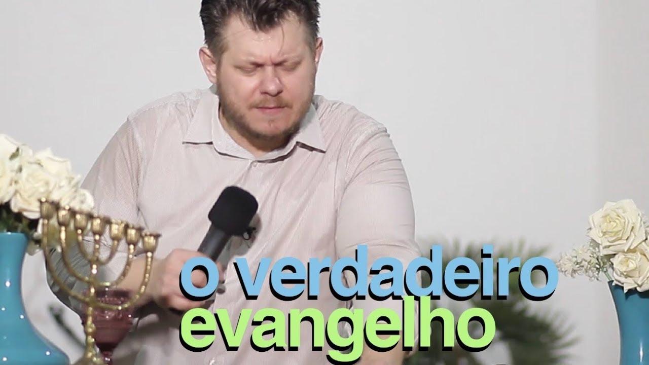 O Verdadeiro Evangelho | pregação evangélica Impactante cheia de unção e ensinamentos da palavra