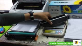 Printing Test of Laser Toner HP CE285A