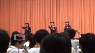 交通安全ソング。2016.9.10新宿交通安全キャンペーンにて、にわみきほさ...