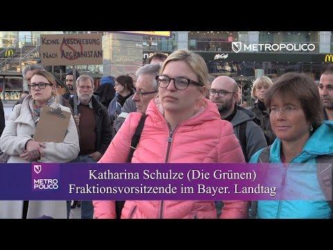 Demo mit Fraktionchefin der Grünen! »Mord, Folter, Deportation – das ist deutsche Tradition«