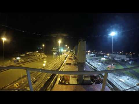 Panama Canal - MV Redhead Transiting