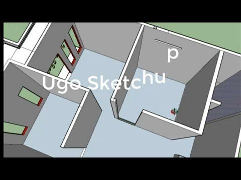 rumah ukuran 5x6 part 8. murah meriah buat rumah. sketchup