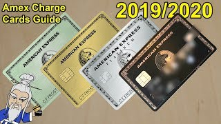 Which Amex Charge Card is Right for You? 2019/2020 Update