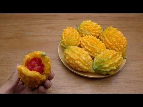 水果那些事儿 颜色金黄的癞葡萄,吃起来味道还是甜的!