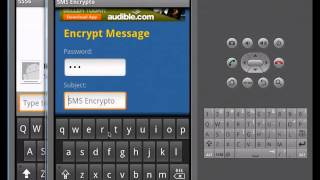 Encrypt a plain text message and save to your inbox with SMS Encrypto for Android