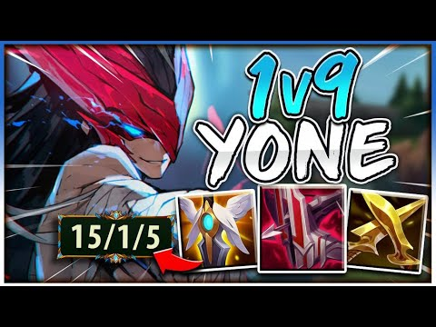 Download HOW I ALWAYS 1V9 WITH YONE EVERY SINGLE GAME | Challenger Yone - League of Legends
