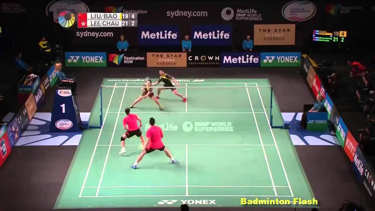 Highlights][Lee Chun Hei &Chau Hoi Wah Vs Liu Cheng&Bao Yixin][The