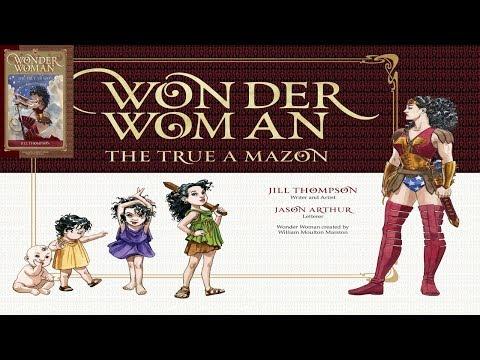 WONDER WOMAN THE TRUE AMAZON (Graphic Novel) [ENG] (2016)