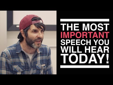 Why Go Vegan? | The Most IMPORTANT Speech You Will Hear Today!