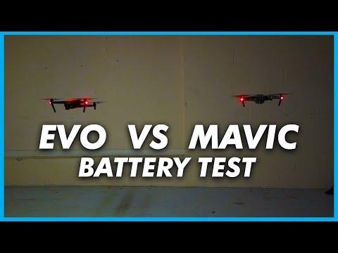 EVO VS MAVIC PRO  BATTERY TEST