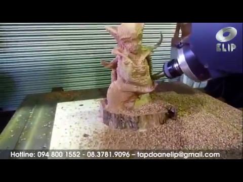 Máy khắc-phay Gỗ-Đá: 5D