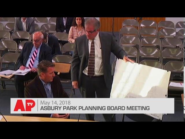Asbury Park Planning Board Meeting - May 14, 2018