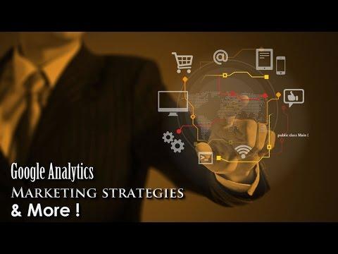 Marketing Tutorial - Marketing Strategies / Web Traffic / Google Analytics