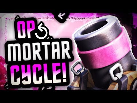 THIS GUY IS A GOD w/ MORTAR CYCLE DECK! FLAWLESS PLAYS vs COUNTER META!