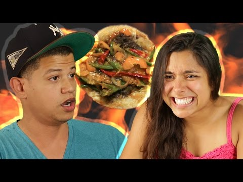 Thumbnail: People Try The Spicy Taco Challenge