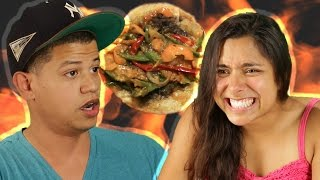 People Try The Spicy Taco Challenge