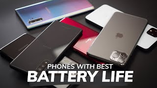 Phones with Best Battery Life (2020)