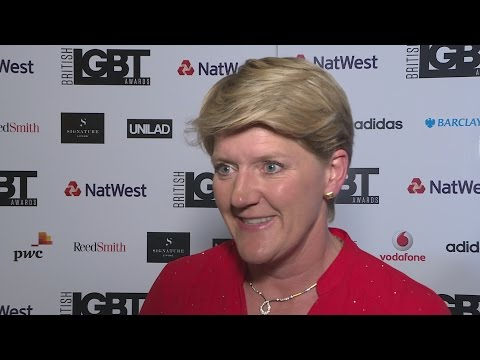 Clare Balding addresses need to improve gay rights in men
