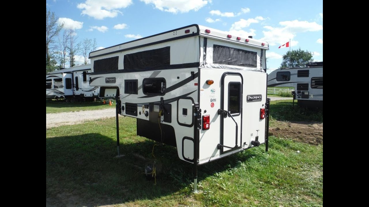 2016 Palomino Backpack Ss1240 Pop Up Truck Camper Camp Out Rv In Stratford