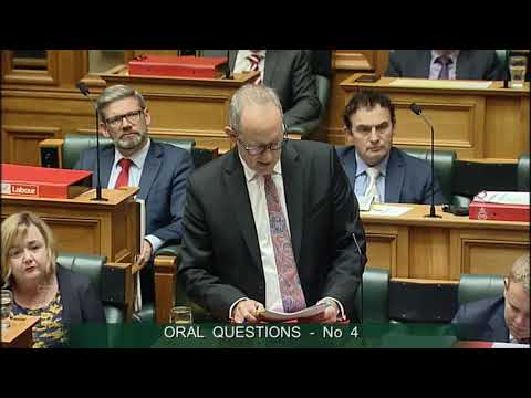 Question 4 - Jami-Lee Ross to the Minister of Transport