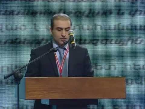Speech of Manuk Hergnyan delivered at the economic seminar of the Republican Party of Armenia