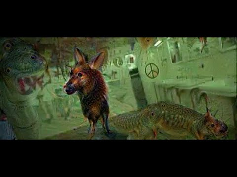 Deep Dreaming Fear & Loathing in Las Vegas: the Great San Francisco Acid Wave