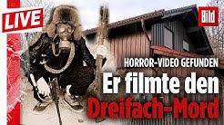 🔴 Horror-Video von Familien-Mord gefunden: Starnberg-Killer filmte seine Opfer   BILD Live