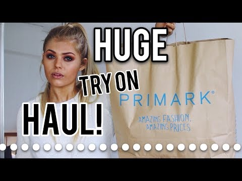 HUGE PRIMARK TRY ON HAUL! | MARCH 2018 | intheluxe