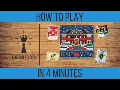 How To Play The Home Alone Game In 4 Minutes - The Rules Girl