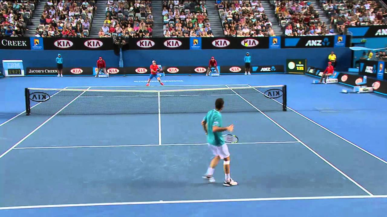 The Best Game Of Tennis Ever Australian Open 2012 Youtube