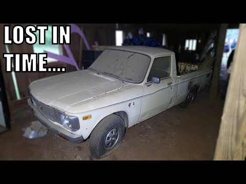 BARN FIND, VERY RARE, 1977 Chevrolet Luv Truck, Parked And Forgotten.....