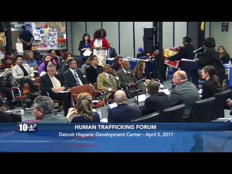 Detroit City Council President Brenda Jones Human Traffickin