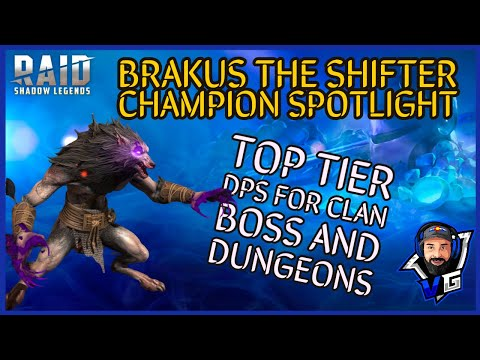 Raid Shadow Legends Brakus the Shifter Champion Spotlight