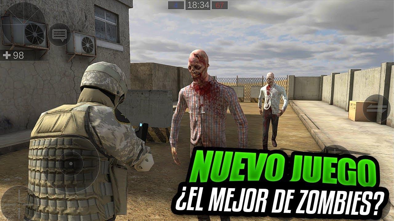 Descarga Nuevo Mejor Juego De Zombies Online Android Youtube