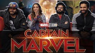 Captain Marvel Trailer #2 - Group Reaction
