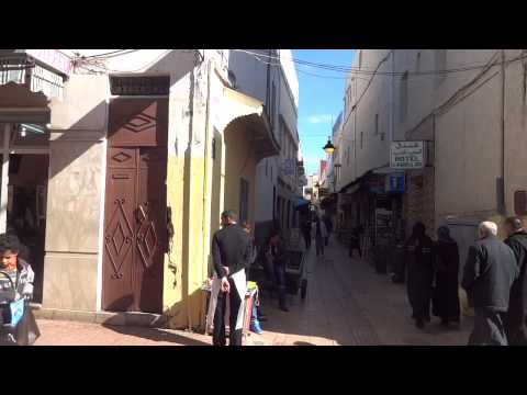 Morocco: Walking in Medina, Rabat  モロッコ:ラバトのメディナを歩く