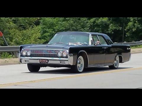 1962 Lincoln Continental Hardtop Sedan - YouTube
