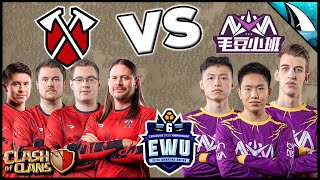Giant War between Tribe Gaming and Nova | EWU | Clash of Clans