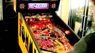 1994 DATA EAST The Who's Tommy Pinball Color DMD Gameplay データ イ...