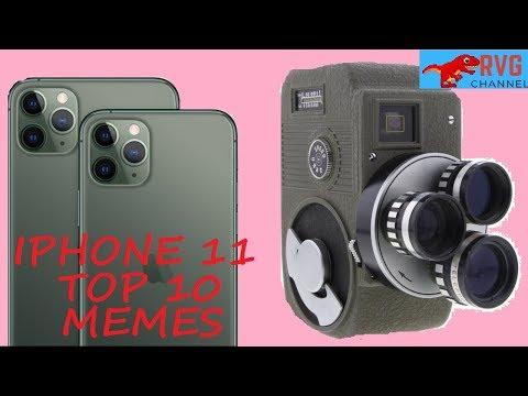 ТОП - 10  МЕМОВ С  iPhone 11