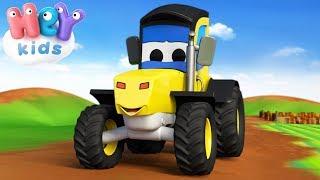 Le Tracteur chanson 🚜 Comptines pour bébé - HeyKids