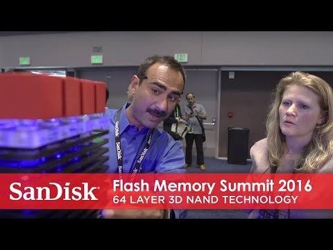 Flash Memory Summit 2016:  64 layer 3D NAND technology