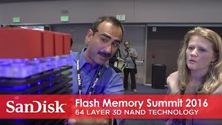 Flash Memory Summit 2016 | 64 Layer 3D NAND Technology