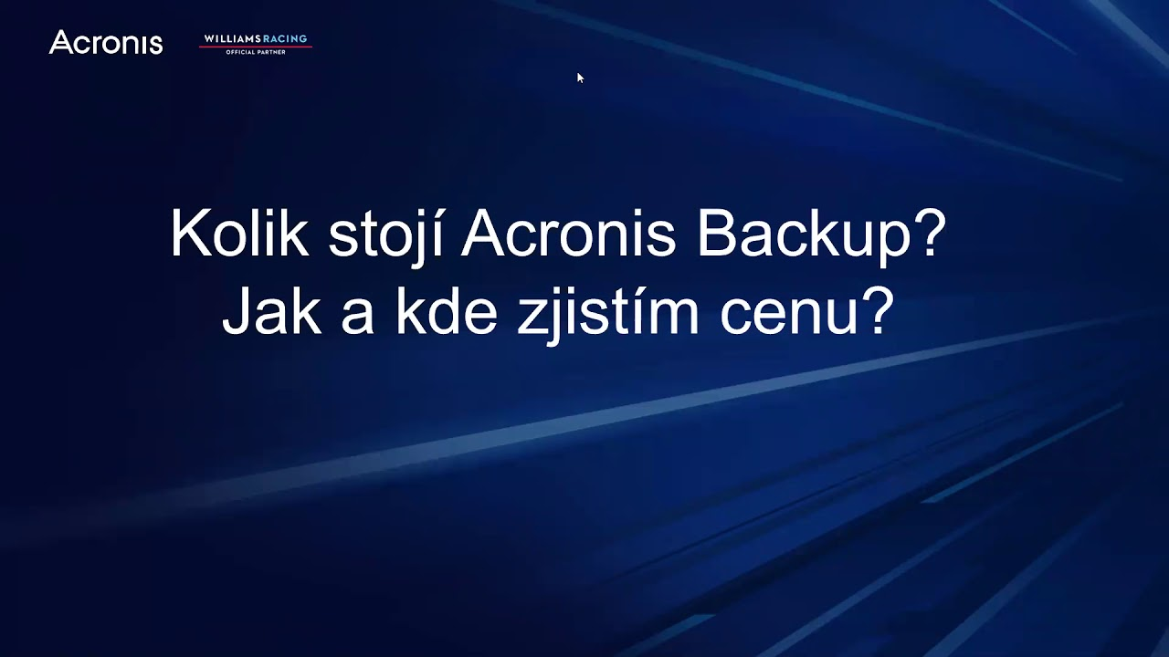 Časté otázky a odpovědi na téma Acronis Backup - YouTube 7b885d098a